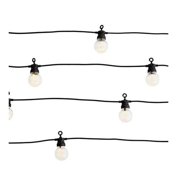 Madam Stoltz, Outdoor/Indoor lights, Lyskæde, 8,5 meter, 10 pærer