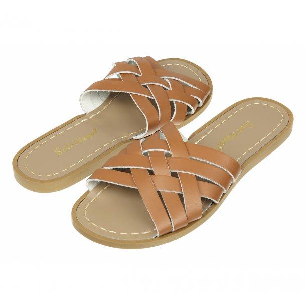 Salt-Water, Retro Slide Sandal, Tan